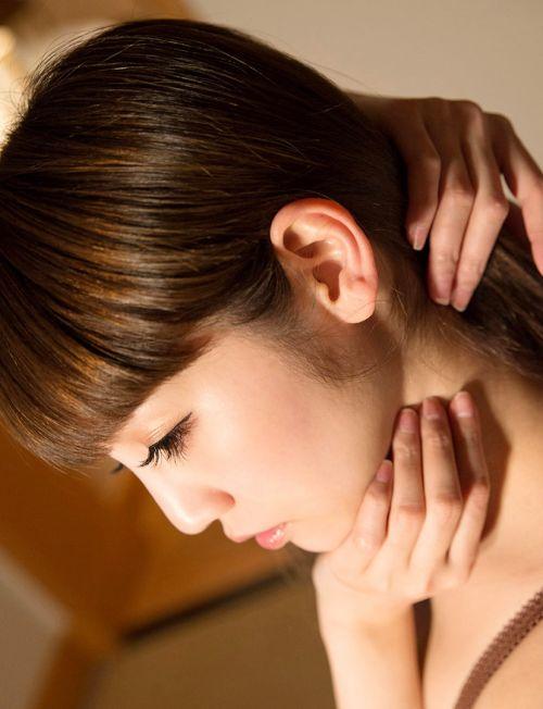 【エロ画像】美女のうなじを見て一目惚れしちゃうことってあるよな! 41枚 No.29