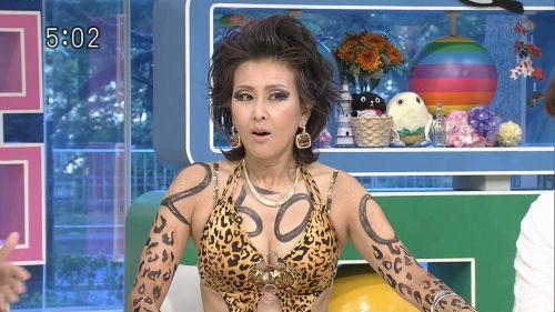 岡本夏生がTVでケツを丸出しにしちゃう破天荒熟女のエロ画像 126枚 No.47