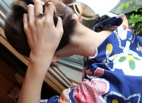 【盗撮画像】着物姿の和服美人のうなじがやっぱり一番色っぽいよな! 48枚 No.5