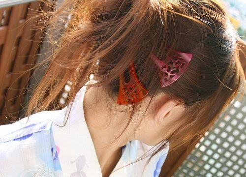 【盗撮画像】着物姿の和服美人のうなじがやっぱり一番色っぽいよな! 48枚 No.7