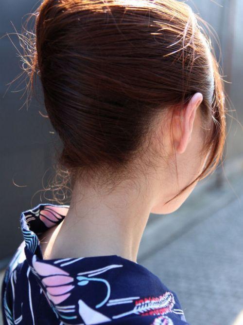 【盗撮画像】着物姿の和服美人のうなじがやっぱり一番色っぽいよな! 48枚 No.9