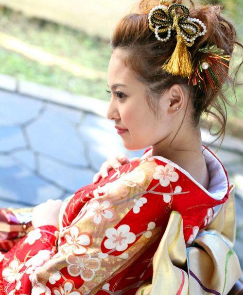 【盗撮画像】着物姿の和服美人のうなじがやっぱり一番色っぽいよな! 48枚 No.10