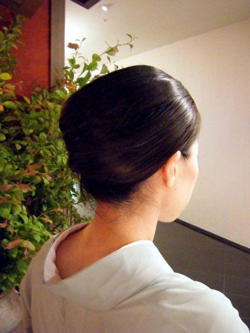 【盗撮画像】着物姿の和服美人のうなじがやっぱり一番色っぽいよな! 48枚 No.15