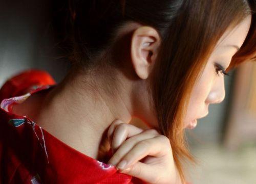 【盗撮画像】着物姿の和服美人のうなじがやっぱり一番色っぽいよな! 48枚 No.19