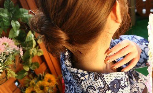 【盗撮画像】着物姿の和服美人のうなじがやっぱり一番色っぽいよな! 48枚 No.27