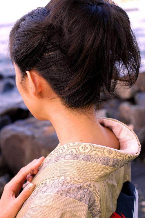【盗撮画像】着物姿の和服美人のうなじがやっぱり一番色っぽいよな! 48枚 No.38
