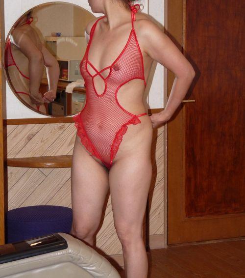【エロ画像】熟女や人妻が赤いランジェリーで勝負を仕掛けた結果www 39枚 No.37