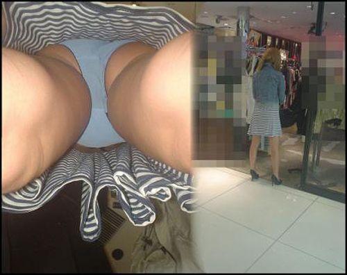 【画像】オシャレで可愛いショップ店員さんを逆さ撮り盗撮した結果がこちらです! 38枚 No.9