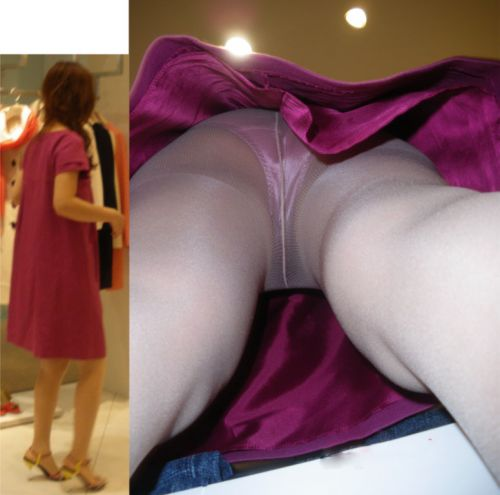 【画像】オシャレで可愛いショップ店員さんを逆さ撮り盗撮した結果がこちらです! 38枚 No.15