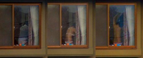 民家のおっぱい・股間丸出しな女の子を窓の外から盗撮したエロ画像 41枚 No.12