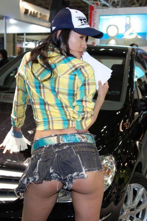 【エロ画像】過激衣装を着たキャンギャルのヘソチラや絶対領域www 39枚 No.3