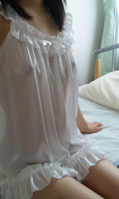 【画像】シースルーの下着姿女の子って全裸よりエロイよなwww 37枚 No.9