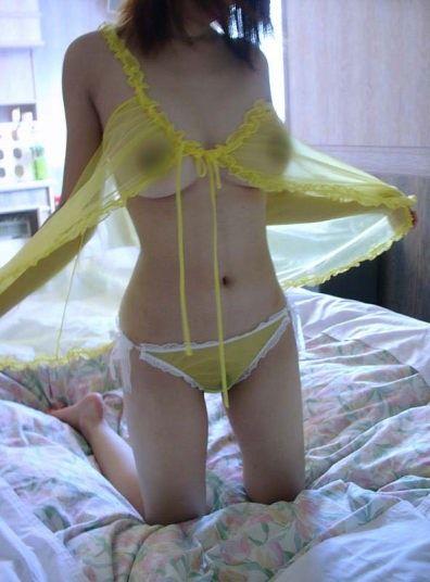 【画像】シースルーの下着姿女の子って全裸よりエロイよなwww 37枚 No.32