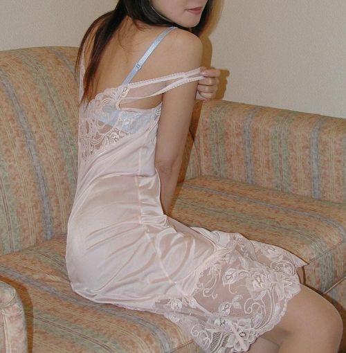 お姉さんの白スリップを着けたままセックスしたくなっちゃうエロ画像 35枚 No.30