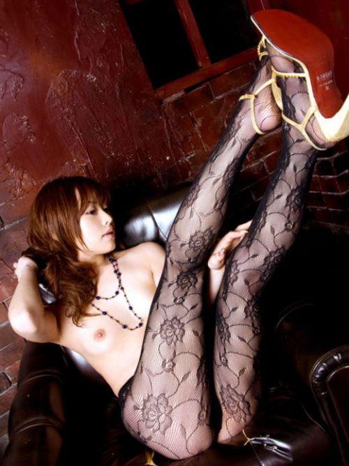 エロさに高級感のある柄ストッキング女性のお尻限定エロ画像 34枚 No.15