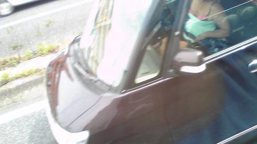自動車の中で隣に座ってる女の子の胸の谷間を盗撮したエロ画像 47枚 No.20