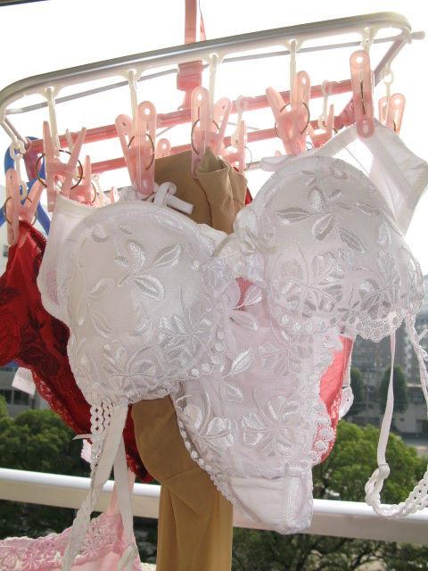 女の子のパンツやブラジャーなどの干した洗濯物の盗撮エロ画像 37枚 No.23