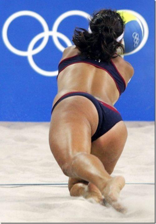 【エロ画像】ビーチバレー選手のマンスジや健康的でムチムチなお尻でシコろうぜ! 32枚 No.27