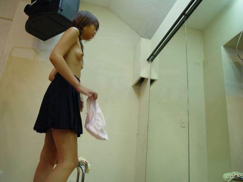 【盗撮画像】試着室で着替えてる無防備な素人ギャル達がエロ過ぎwww 32枚 No.13