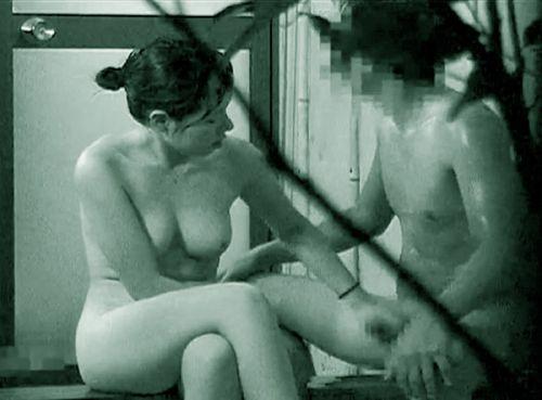 赤外線カメラでカップルの青姦セックスをこっそり盗撮したエロ画像 31枚 No.4