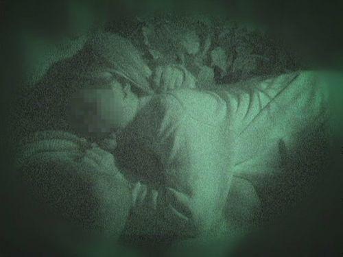 赤外線カメラでカップルの青姦セックスをこっそり盗撮したエロ画像 31枚 No.5