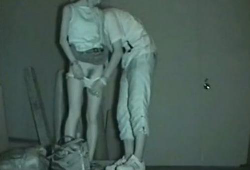 赤外線カメラでカップルの青姦セックスをこっそり盗撮したエロ画像 31枚 No.24