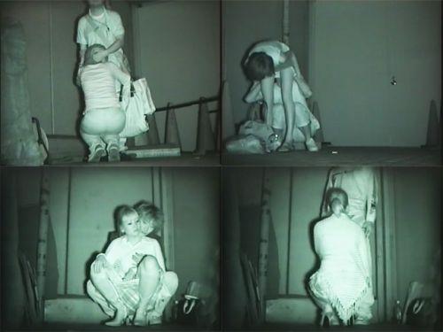 赤外線カメラでカップルの青姦セックスをこっそり盗撮したエロ画像 31枚 No.25