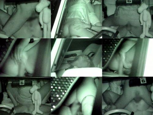 赤外線カメラでカーセックス中の素人カップルを盗撮したエロ画像まとめ 37枚 No.6