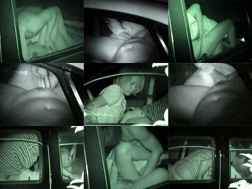 赤外線カメラでカーセックス中の素人カップルを盗撮したエロ画像まとめ 37枚 No.22