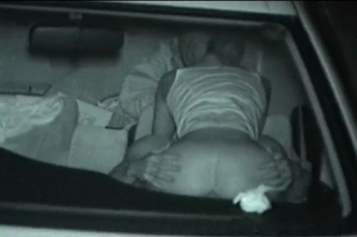 赤外線カメラでカーセックス中の素人カップルを盗撮したエロ画像まとめ 37枚 No.26