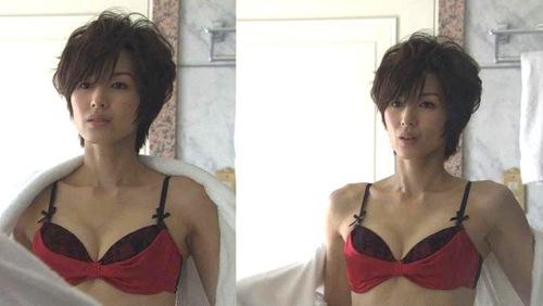 吉瀬美智子 綺麗でカッコ良すぎる熟女のヌードやイキ顔のエロ画像 182枚 No.170