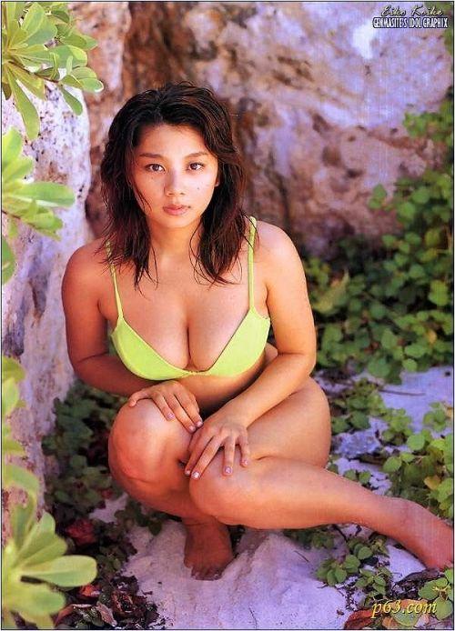 小池栄子 エロ過ぎるFカップおっぱいの谷間と力強い視線に勃起不可避なエロ画像 167枚 No.94