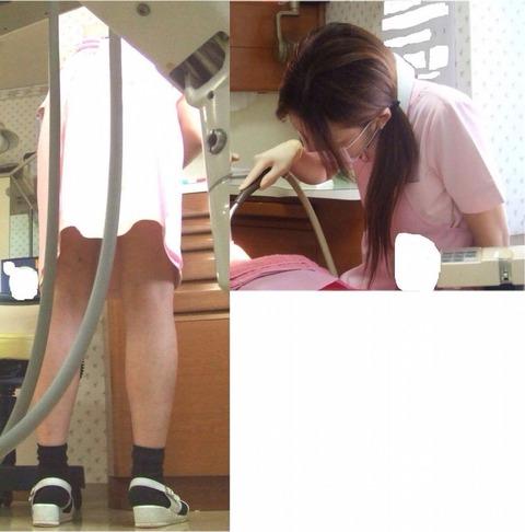 看護師(ナース)の胸チラや着替え・街撮りを盗撮したエロ画像 34枚 No.13