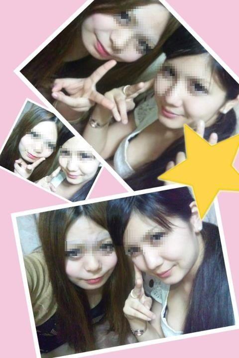 【エロ画像】女子高生がプリクラ内での悪ふざけした結果www 40枚 No.23