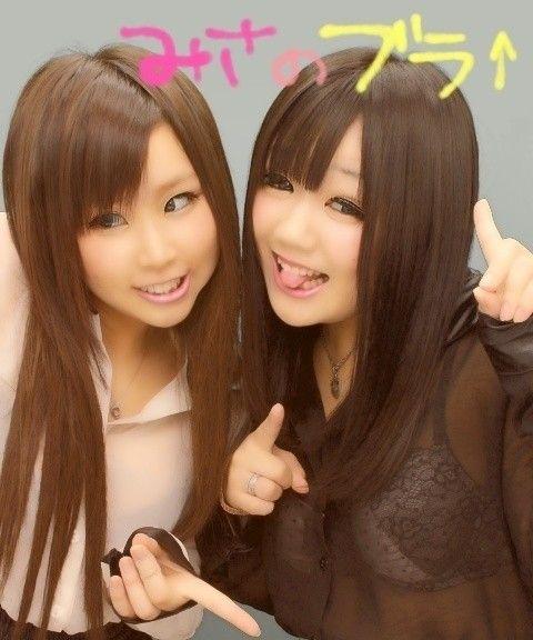 【エロ画像】女子高生がプリクラ内での悪ふざけした結果www 40枚 No.32