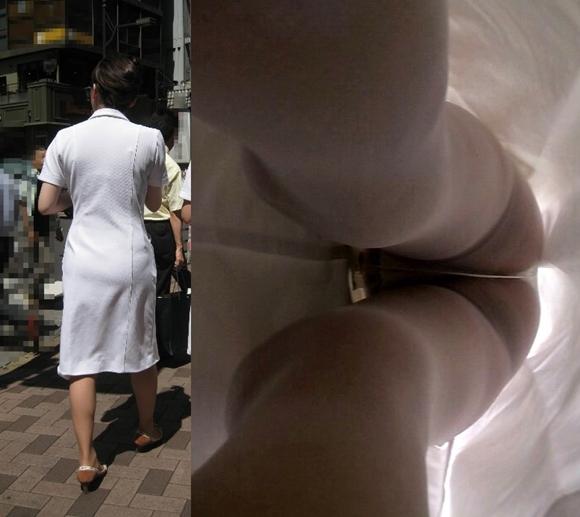 看護師(ナァス)のパンティ限定で逆さ撮りした秘密撮影えろ写真 41枚