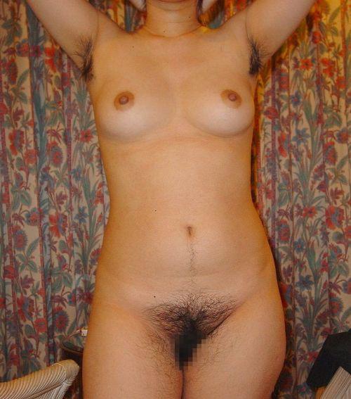 ワキ毛がフサフサな女性の腋に顔を埋めたくなるエロ画像 36枚 No.22