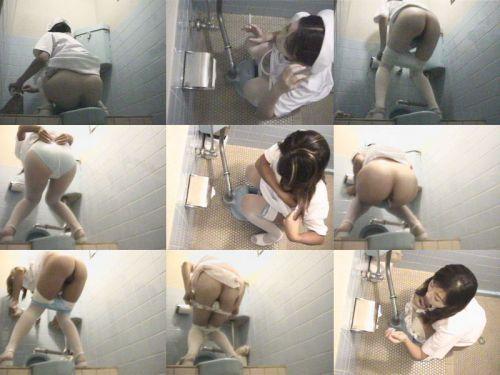 看護師(ナース)が和式や洋式トイレで聖水出しちゃう盗撮エロ画像 37枚 No.3