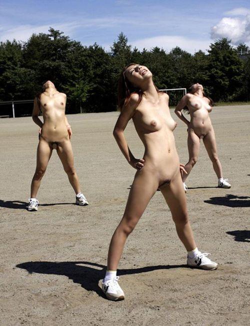 全裸でスポーツに勤しむアスリート達のエロ画像がこちらです! 33枚 No.20