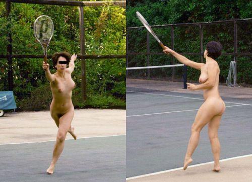 全裸でスポーツに勤しむアスリート達のエロ画像がこちらです! 33枚 No.29