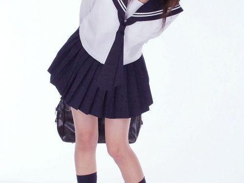 かわいいJKの制服姿にもっこりしちゃうのエロ画像 38枚 No.5