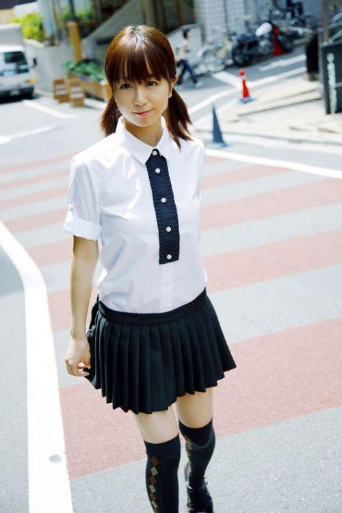 かわいいJKの制服姿にもっこりしちゃうのエロ画像 38枚 No.8