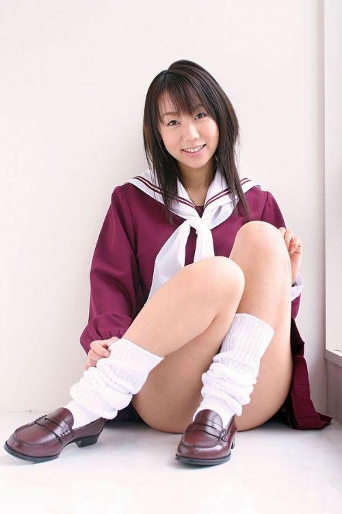 かわいいJKの制服姿にもっこりしちゃうのエロ画像 38枚 No.10