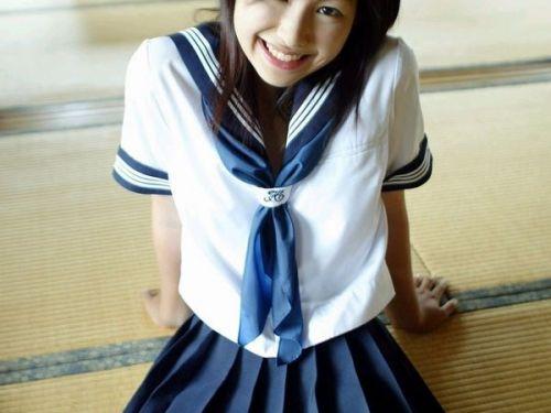 かわいいJKの制服姿にもっこりしちゃうのエロ画像 38枚 No.15