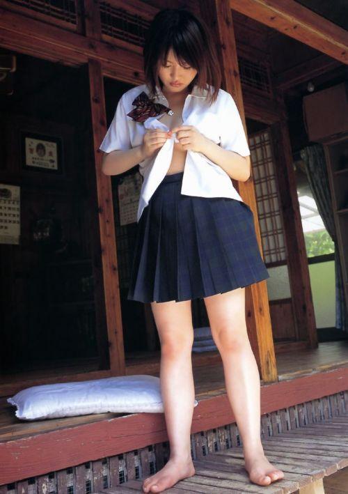 かわいいJKの制服姿にもっこりしちゃうのエロ画像 38枚 No.23