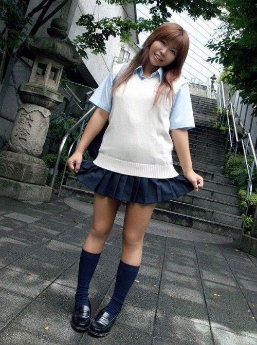 かわいいJKの制服姿にもっこりしちゃうのエロ画像 38枚 No.31