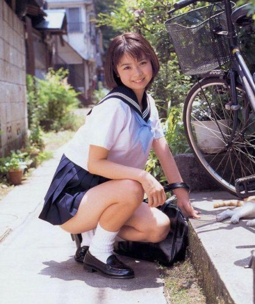 かわいいJKの制服姿にもっこりしちゃうのエロ画像 38枚 No.34