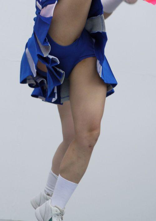 【画像あり】大きく足を開いたチアガールの股間がエロ過ぎ! 38枚 part.2 No.25