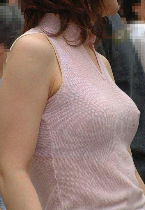 美少女達がノーブラで乳首が透けちゃっている胸ポチエロ画像 36枚 No.21