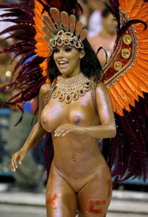 サンバカーニバルで外国人がおっぱい丸出しで踊り狂うエロ画像 36枚 No.18
